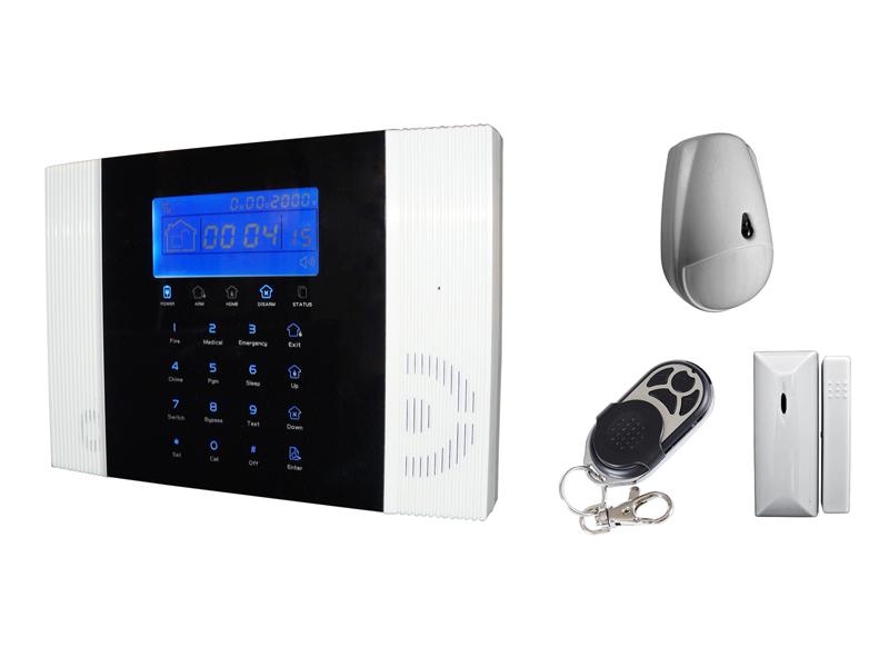 Art 502005 kit di allarme senza filo vigila 3 gsm for Proxe vigila 3 manuale